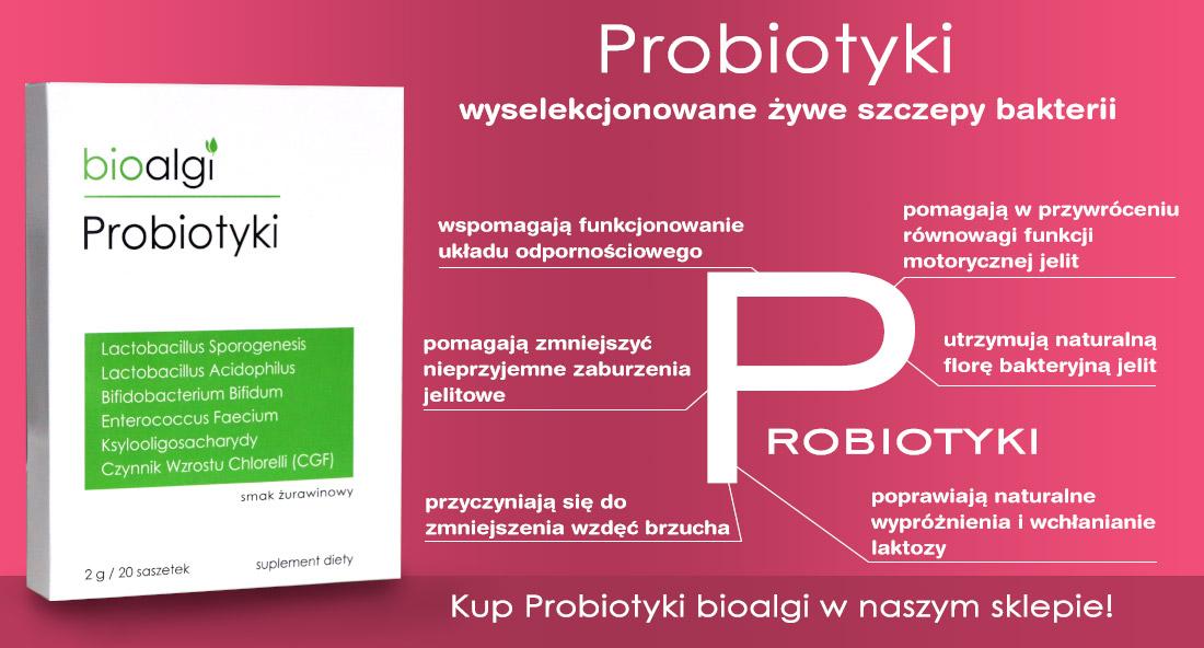 Probiotyki bioalgi